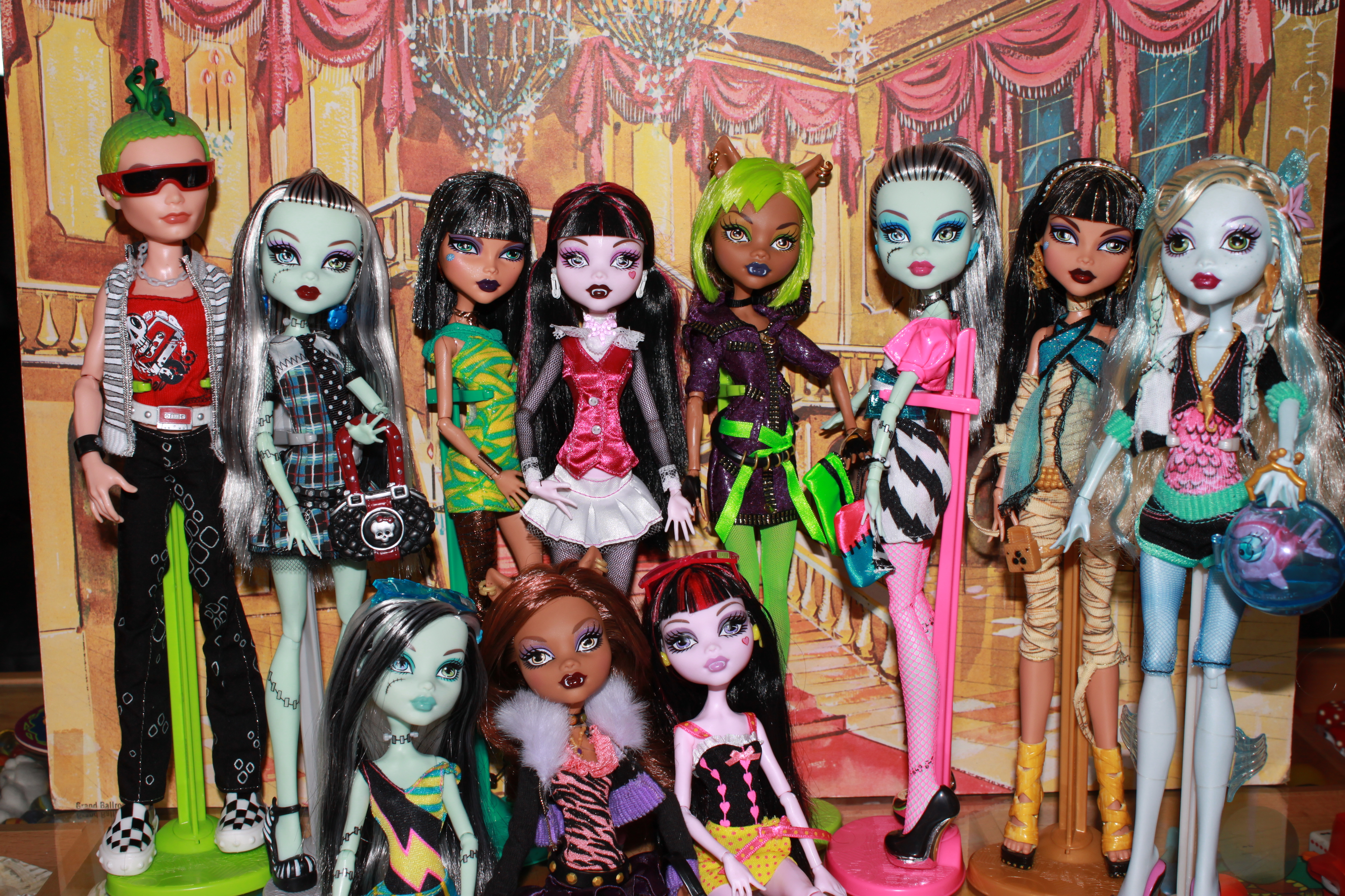 mu u00f1ecas monster high on pinterest monster high  doll and