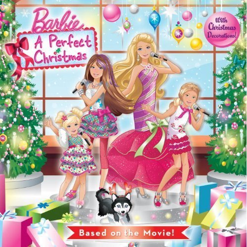 Barbie a perfect christmas book barbie movies 20269535 500 500