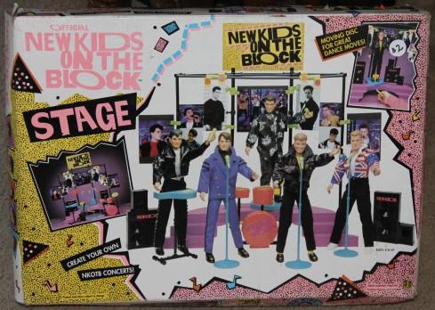 NKOTB Stage- the box