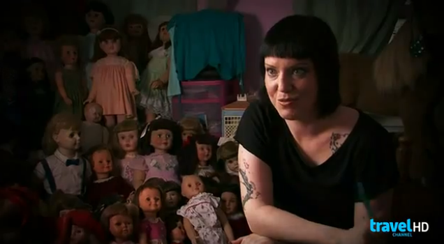Dolls on The Dead Files