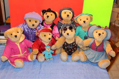 The Miss AG Bear family!