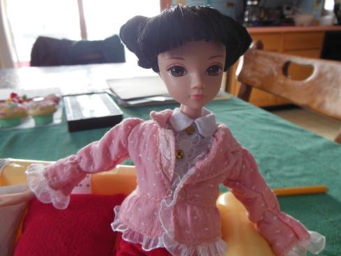 Kuhrn's pink jacket