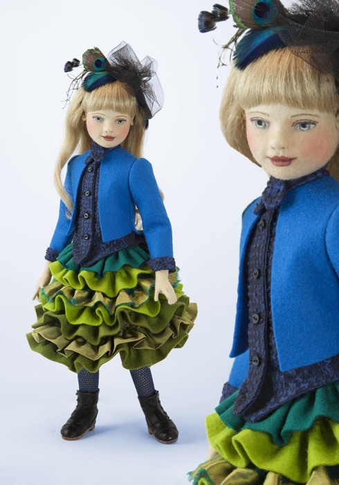 Mademoselle Peacock by Maggie Made Dolls