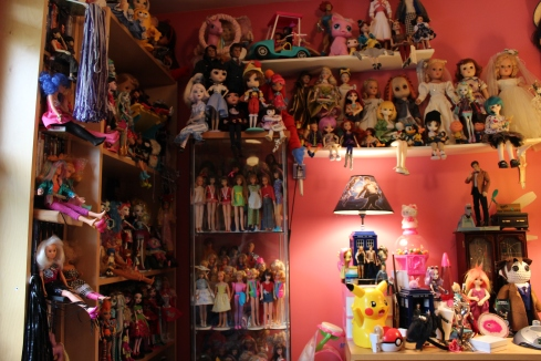 My Walls of Dolls