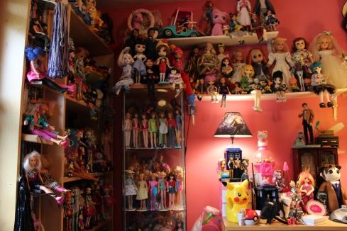My Walls of Dolls