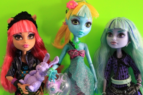 13 Wishes Howleen, Lagoona, and Twyla