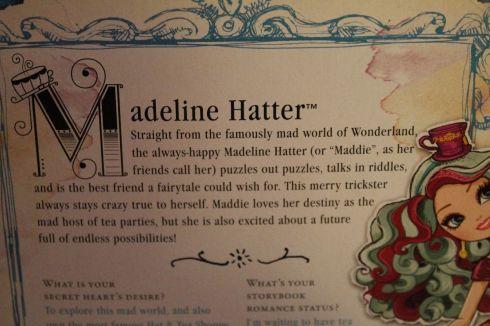 A Bit About Maddie