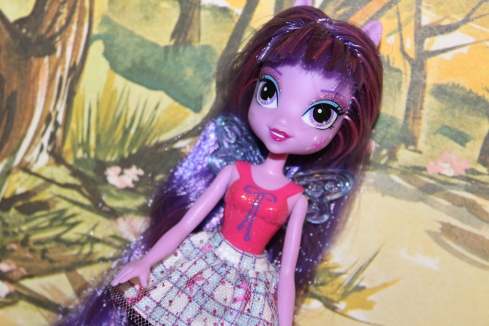 Basic Twilight Sparkle- Notice her painted on shirt