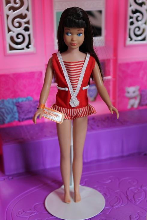 1964 Dark Brunette Straight Leg Skipper