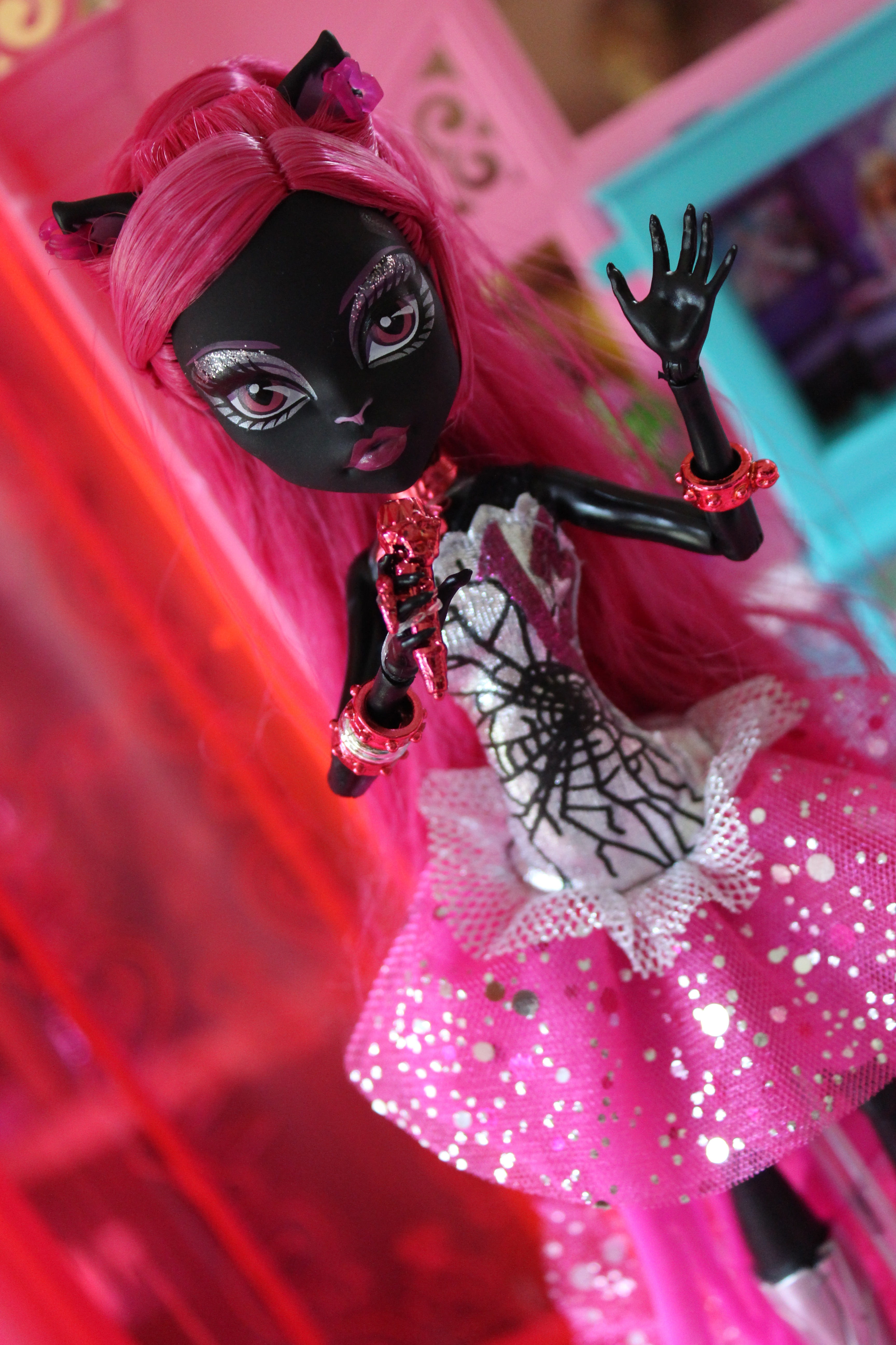 Dolly Review Monster High Catty Noir With Edits On