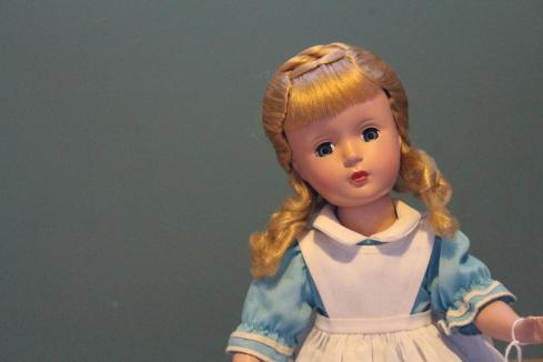 "14"" Madame Alexander dressed as Alice"