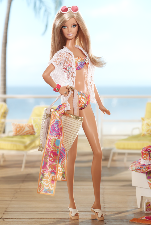 DIY - How to Make Barbie Doll Clothes - Barbie Bikini