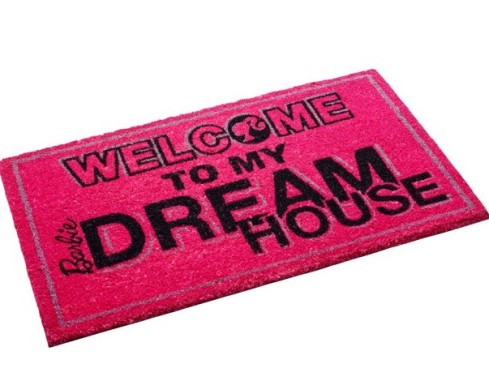 Welcome to my Dreamhouse floor mat