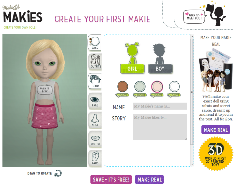 Doll Creation App screenshot