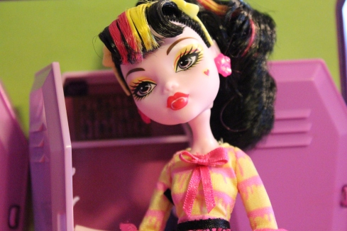 dolly review monster high art class skelita and