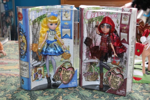 Ever After High Cerise and Blondie