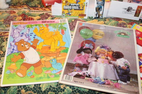 Teddy Ruxpin and Cabbage Patch Kids puzzle