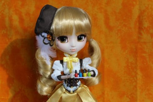 Pullip with MiWorld nail polish
