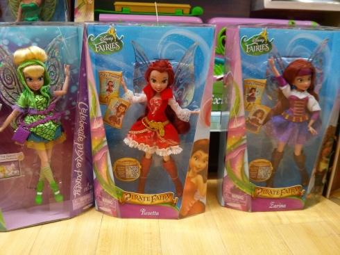 Tinkerbell dolls