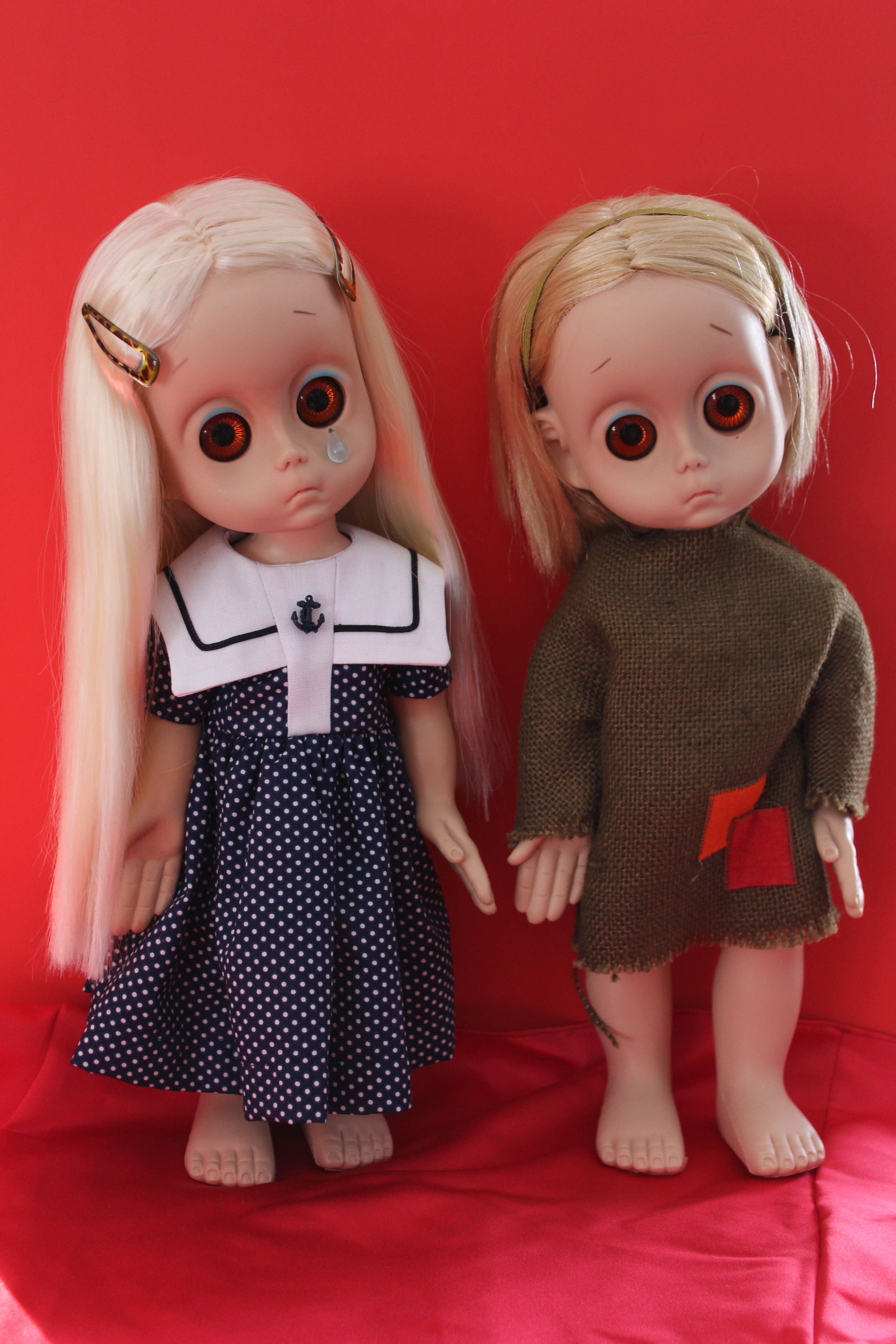 Little Miss Muffett Pretty Cute Doll Clothes Pattern 18: Dolly Re-Root: Little Miss No Name