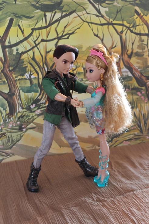 Hunter and Ashlynn Dance