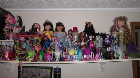 Doll Shelf