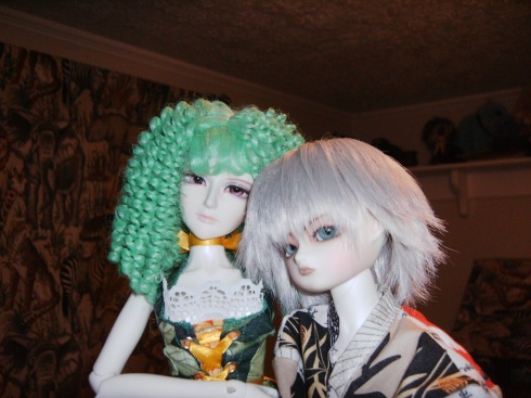 BJD's Mina and Juste
