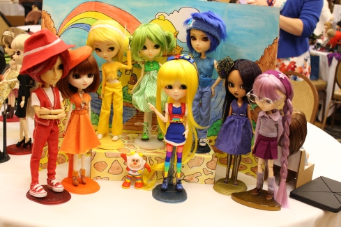 Rainbow Brite and the Color Kids, need I say more?  This was by far the coolest collection brought to Puddle.