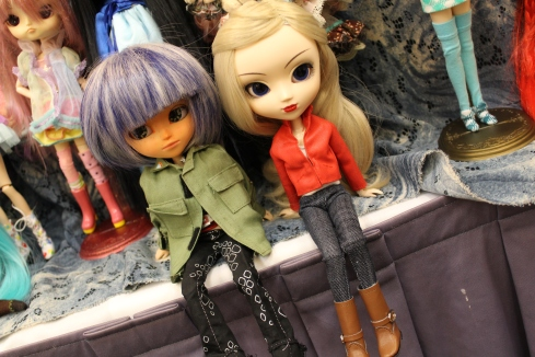My mom's MIO Isul and my custom Emma Swan