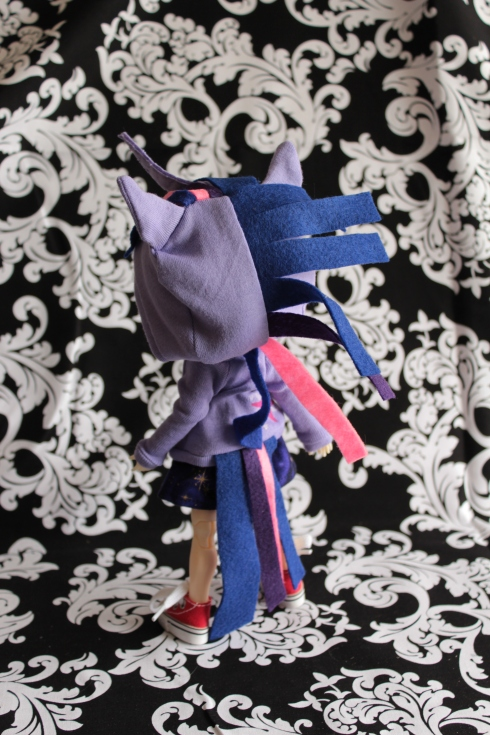 Twilight Sparkle Cosplay (back)