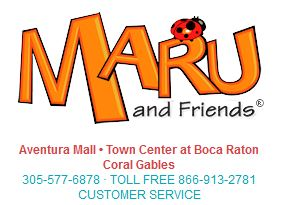 Maru and Friends Florida Locations