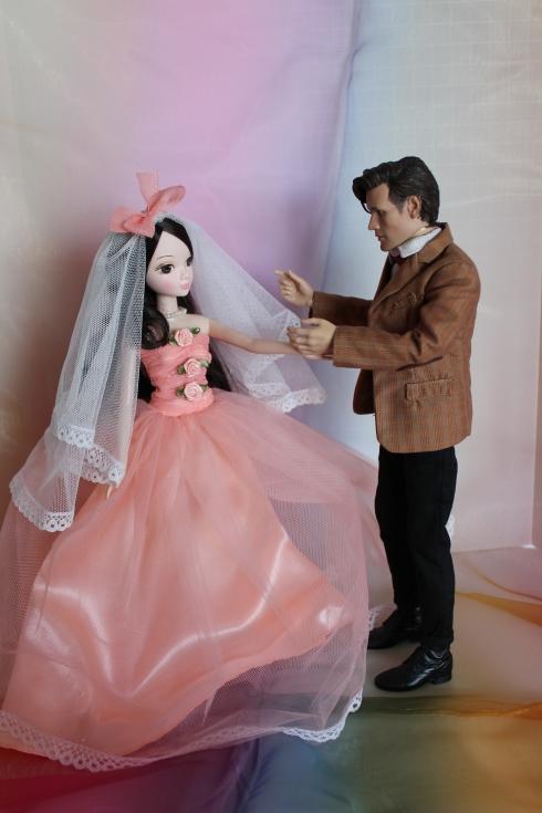 Gentle Lilia Bride Kurhn with the Doctor