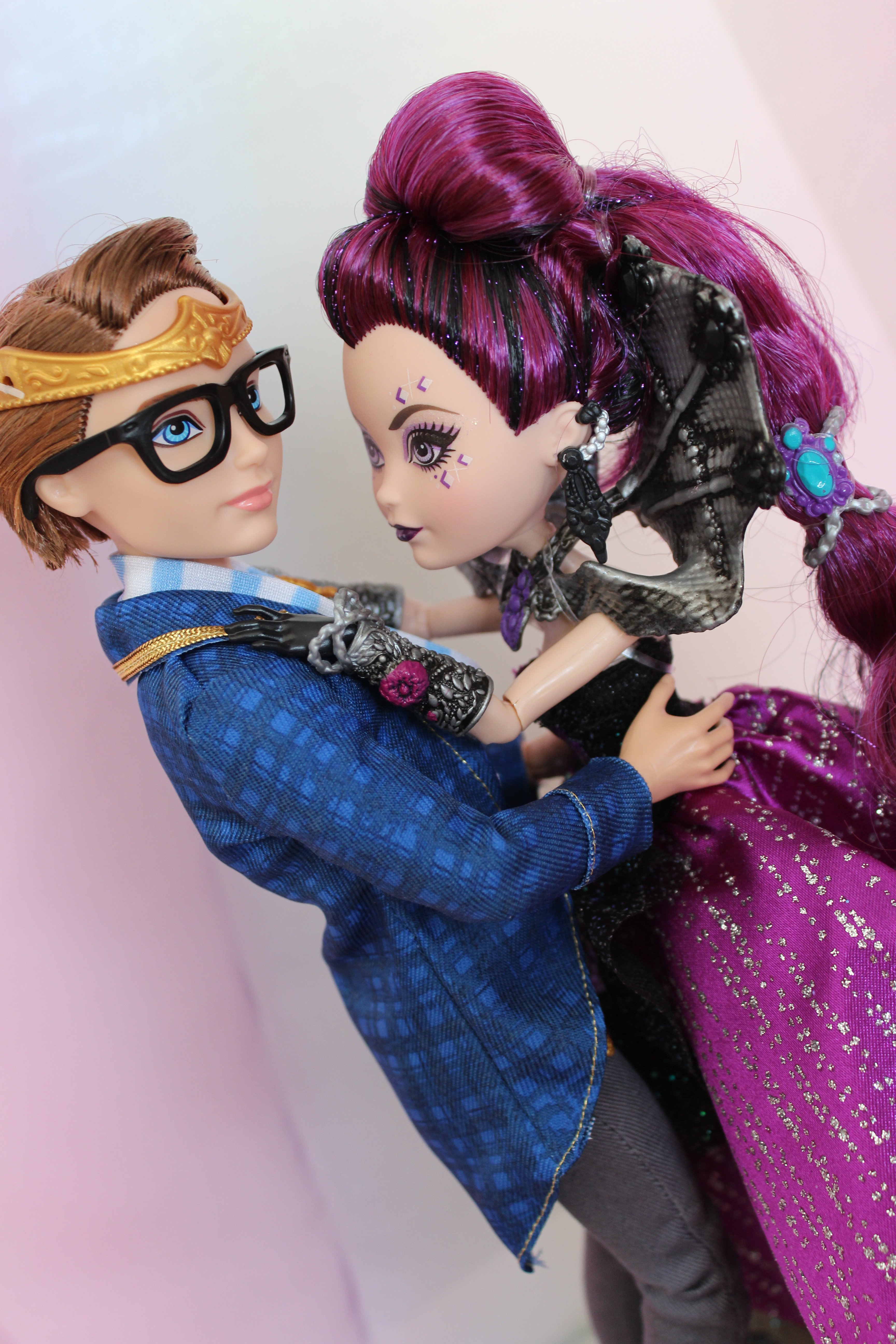 Ever After High Dexter Charming And Raven Queen