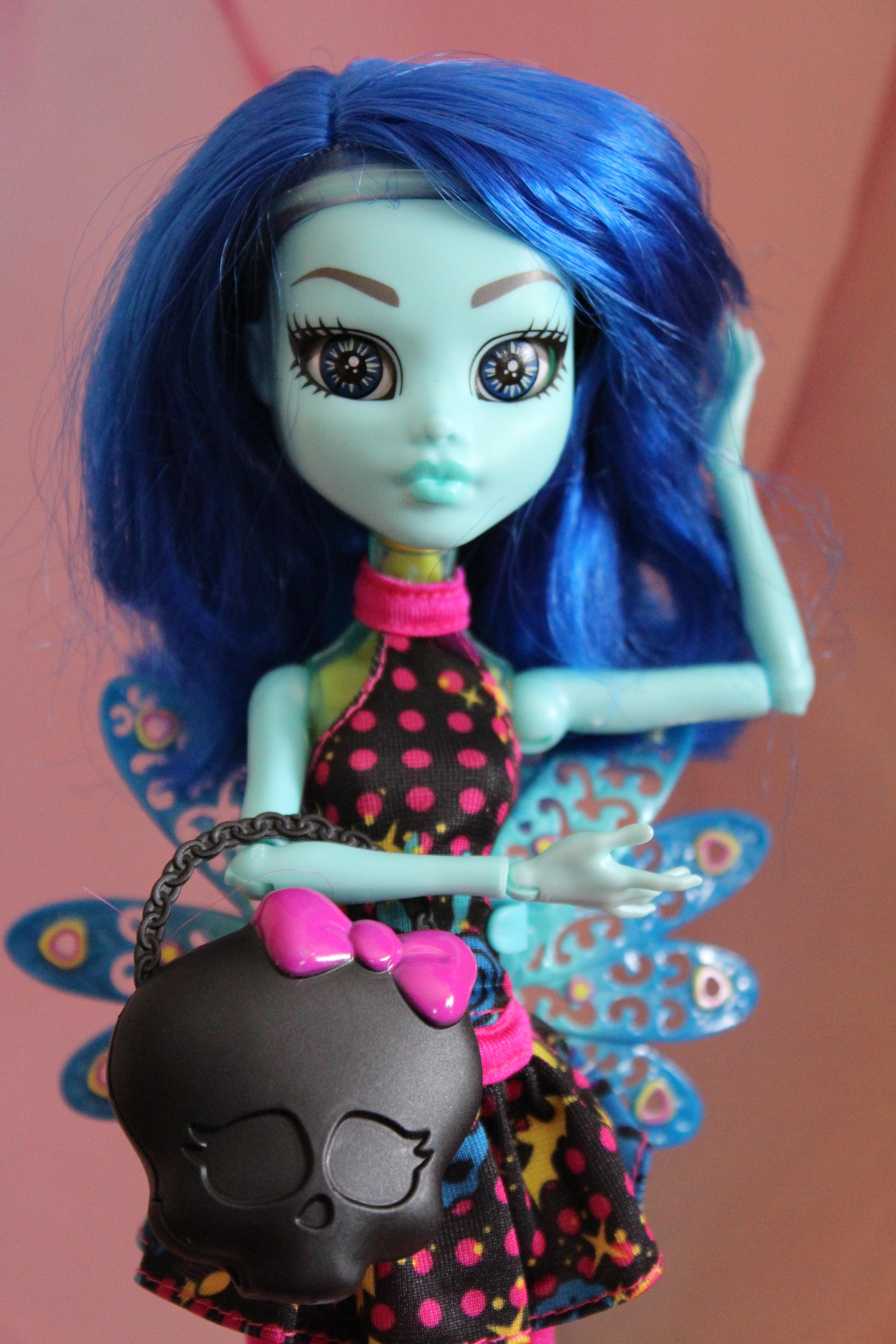 кукла с эмоциями монстр хай набор