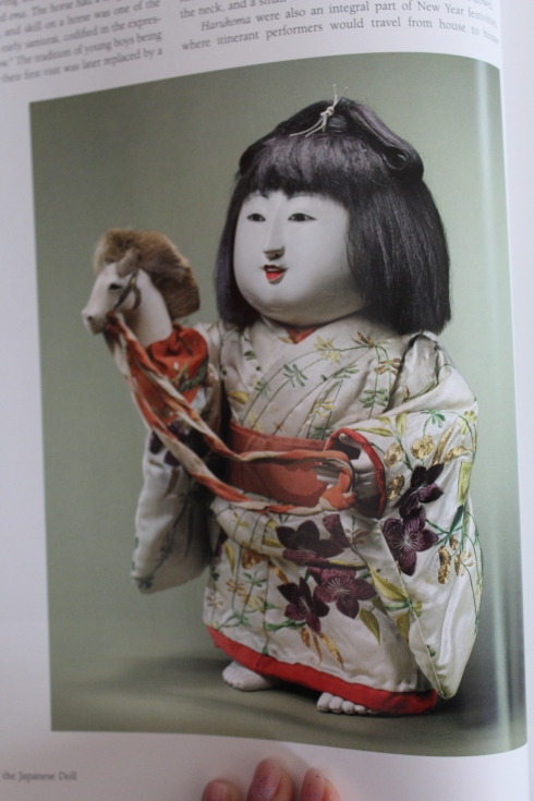 """Standing gosho-ningy0 with hobbyhorse, 19th century, 15""""-- page 30"""
