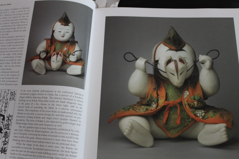 "Karakuri Gosho-ningo with fox mask, 19th century, 10 1/2""-- page 36"