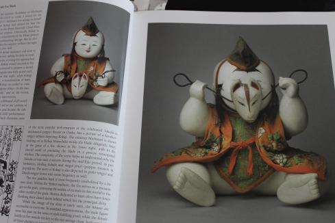 "Karakuri Gosho-ningo with fox mask, 19th century, 10 1/2""-- page 36"