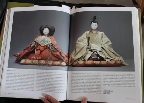 """Yusoku-bina Noshi, 19th century, 18"""" tall-- page 111"""