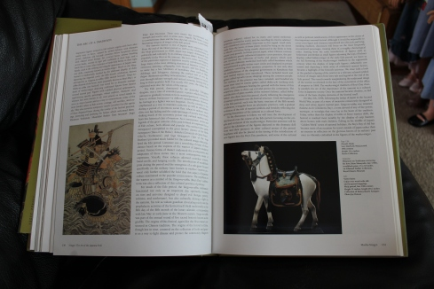 """Votive Horse, late 19th century, 31"""" tall-- page 131"""