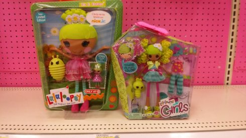 Lalaloopsy vs Lalaloospy Girls