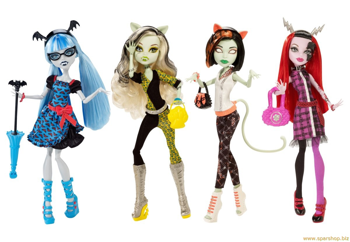 Dolly Report Monster High Freaky Fusion