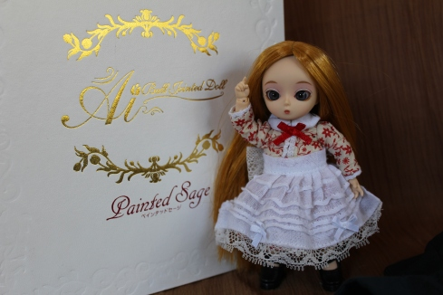 Ai Ball Jointed Doll, Painted Sage