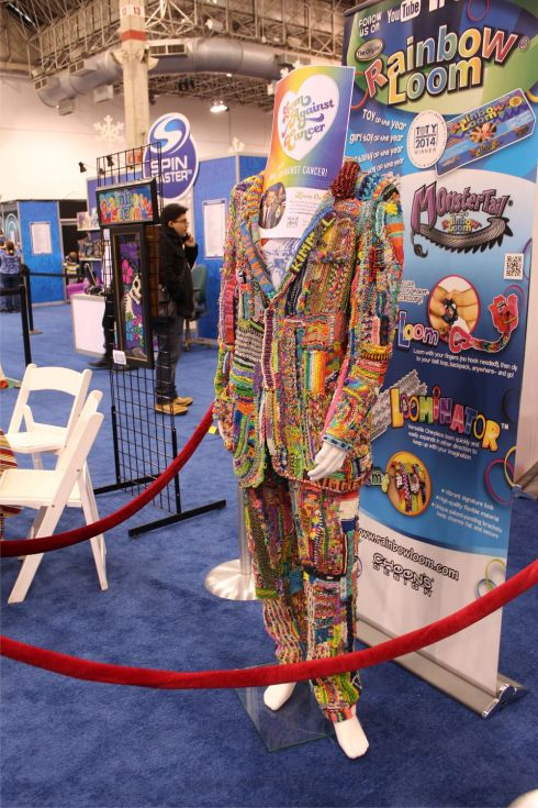 Rainbow Loom Suit (Jimmy Kimmel related?)