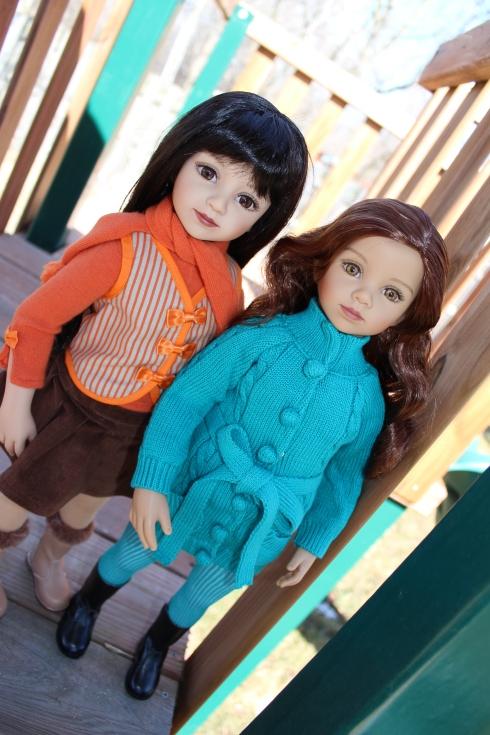 Maru and Tanya