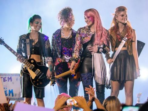 Universal Pictures, Jem and the Holograms, borrowed from USA Today article