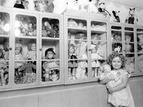 Shirley Temple and her Doll Collection