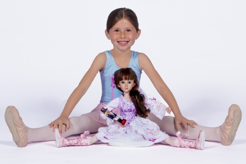 Young Ballerina with Clara