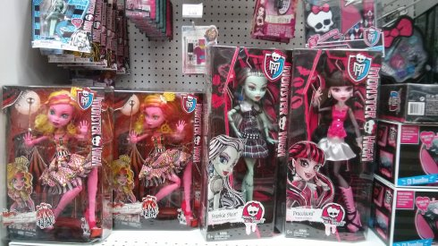 "17"" Monster High"