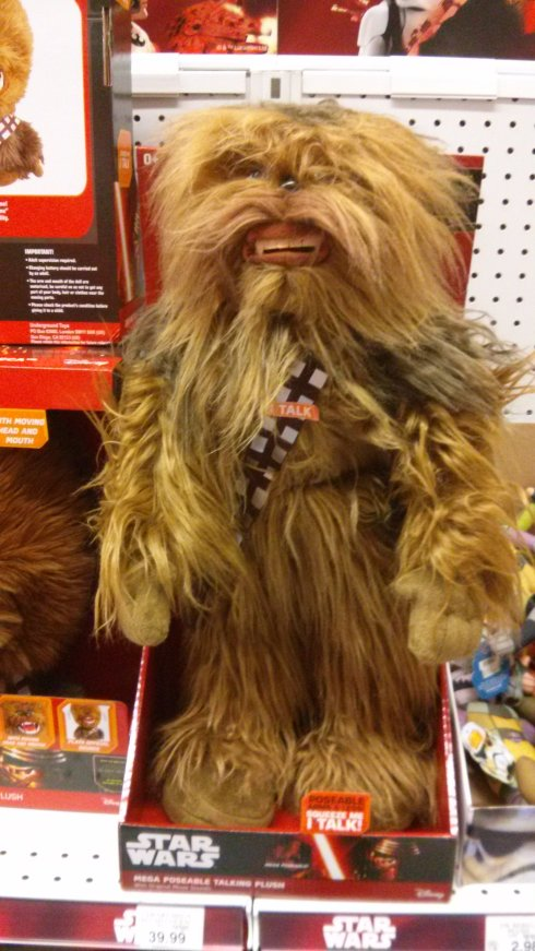 Scary Chewie
